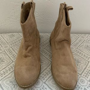 Tan Old Navy boots